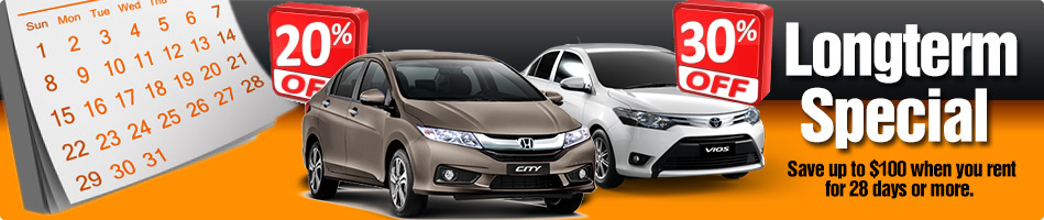 Rent a car longterm in Chiang Mai