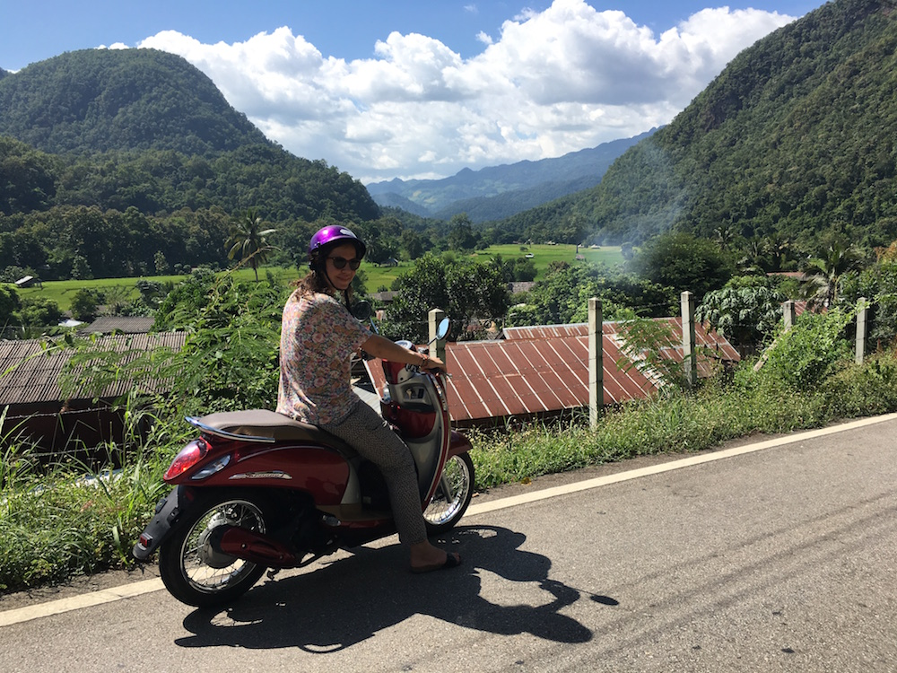 Scooter rentals Thailand, Best scooter rentals in thailand, drive to pai, road to pai, getting from Chiang Mai to Pai