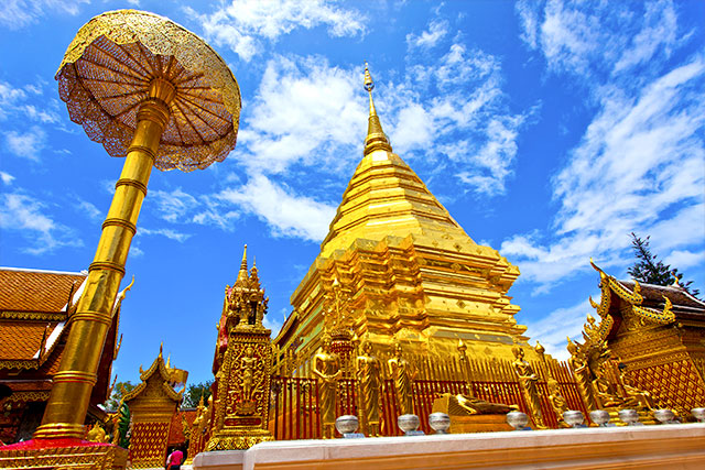 Wat Phrathat Doi Suthep - 10 Places to Discover the Essence of Chiang Mai