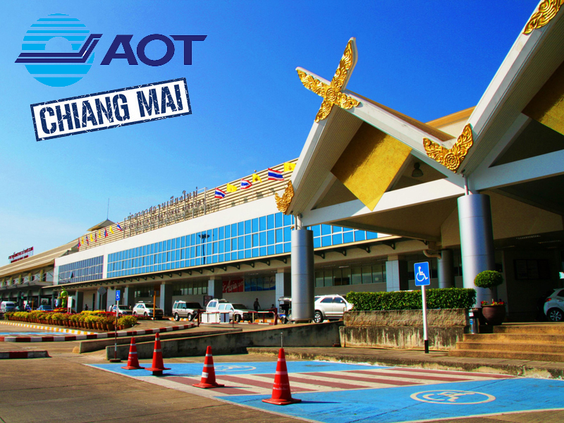 Chiang Mai Airport Car Delivery / Drop-off Service FR