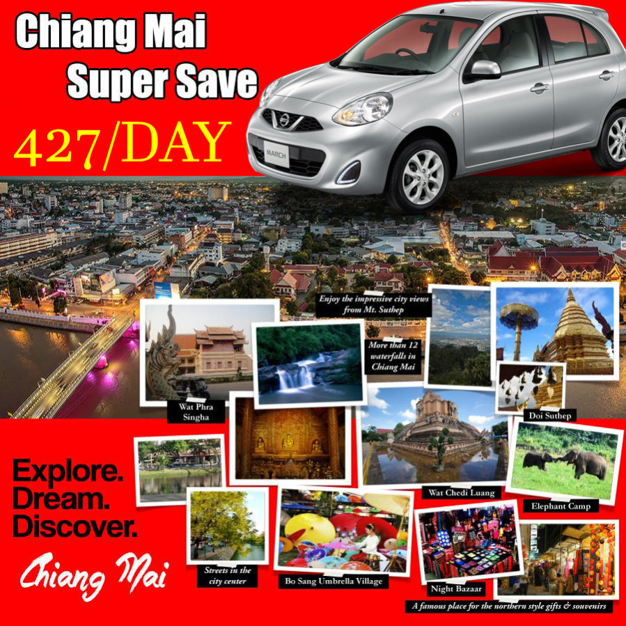Promotion Best Car Rental Chiang Mai Airport