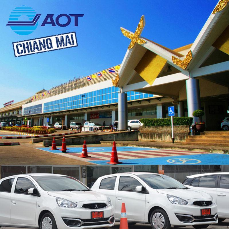 Chiang Mai Flughafen: Zustellung und Abholung Ihres Mietwagens.