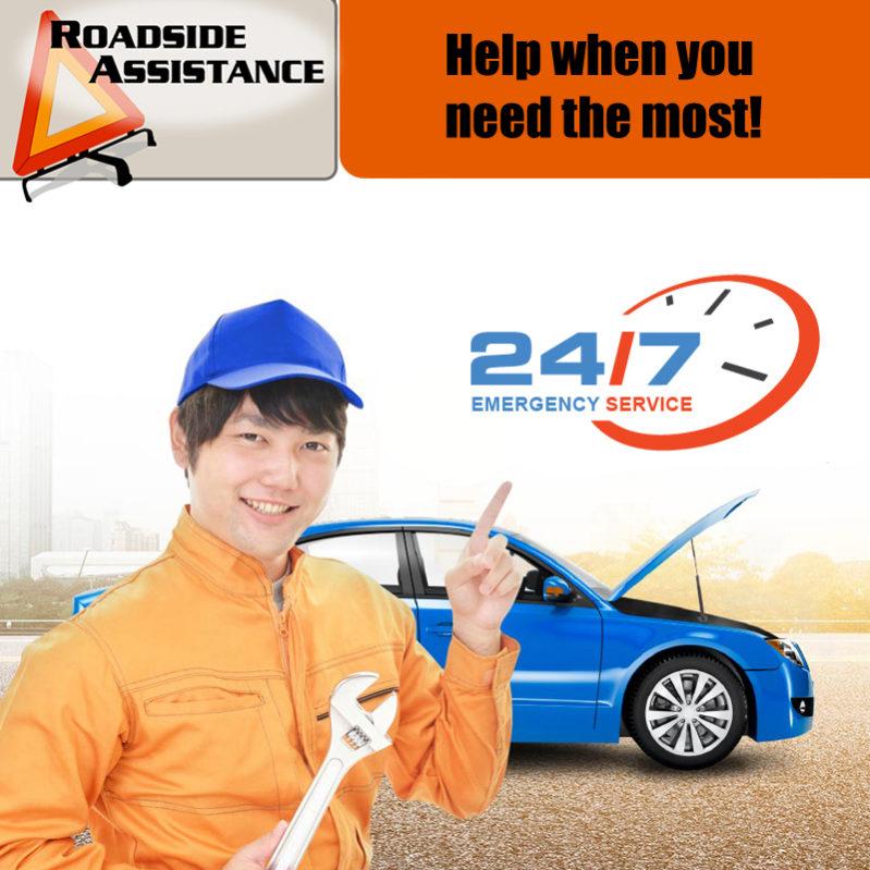 Pannenhilfe Pannenservice Roadside Assistance Budgetcatcher Autovermietung Mietwagen Chiangmai Thailand