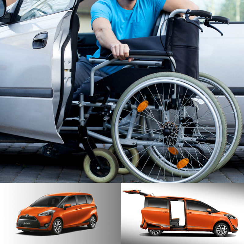 Leihwagen für Rollstuhlfahrer in Chiangmai